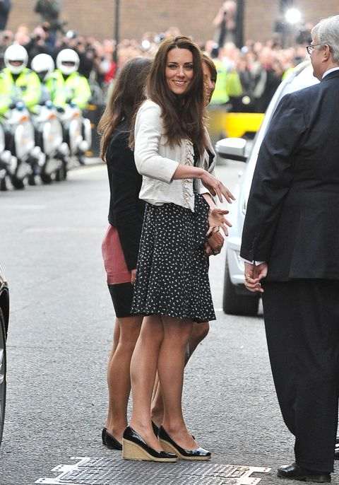 a7ad3b4ebdc Kate Middleton shoes  every pair of shoes the Duchess of Cambridge ...