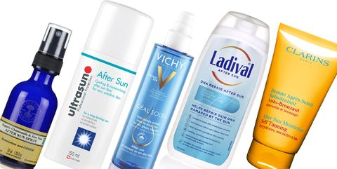 4fb67c5c1 Round up of the best after sun lotions for treated sun burnt skin.