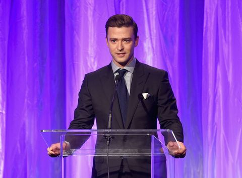 Justin Timberlake at the Hollywood Foreign Press Association Banquet