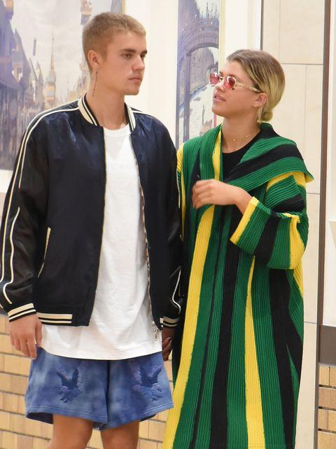 Justin Bieber and Sofia Richie in Tokyo