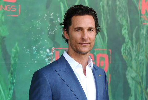 Matthew McConaughey at the premiere of Kubo and the two strings