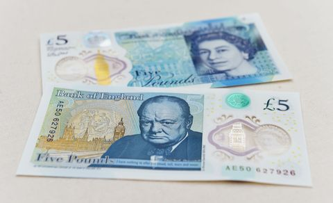Head, Nose, Blue, Cheek, Skin, Banknote, Paper product, Chin, Forehead, Eyebrow,