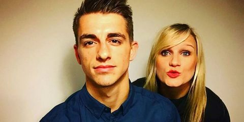 Olympic gymnast Max Whitlock and his fiancee are too cute