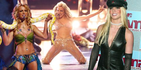 Britney Spears at the MTV VMAs
