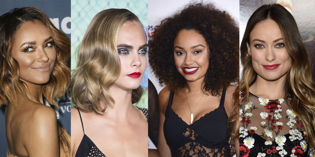 Autumn hair colours All the celebrity inspiration