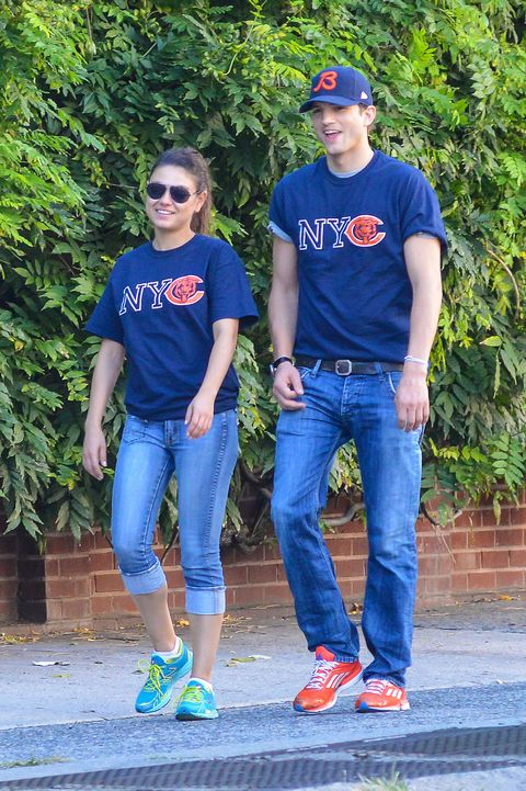 Jeans, Blue, Denim, Youth, T-shirt, Fun, Footwear, Electric blue, Textile, Cool,