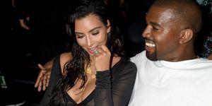 Kim Kardashian Kanye West VMAs