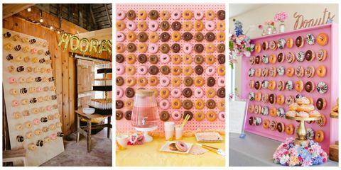 Donut Walls at Weddings