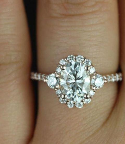 Bridgette Rose Gold Ring (via)