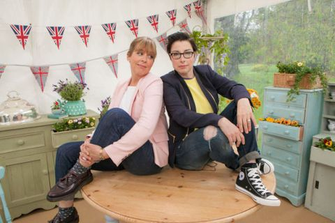 Sue Perkins forced to miss tonight's Great British Bake Off