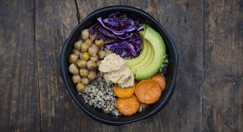Quinoa bowl superfood salad