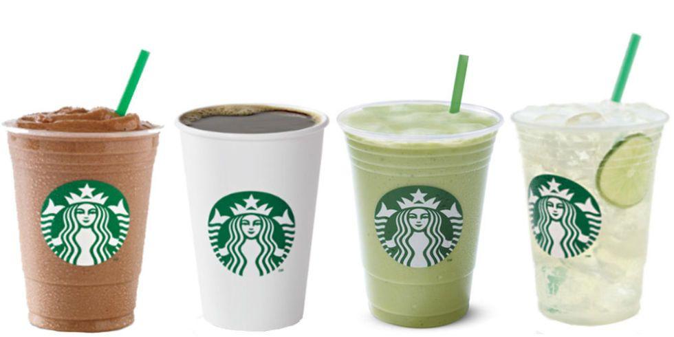 Starbucks Nutrition Drinks Under