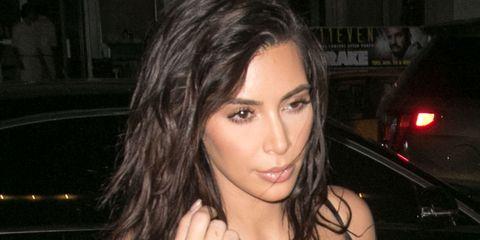Kim Kardashian in Miami Beach, Florida