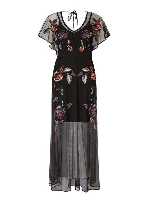 Sleeve, Dress, Pattern, Fashion, Costume design, Day dress, One-piece garment, Costume, Visual arts, Fashion design,
