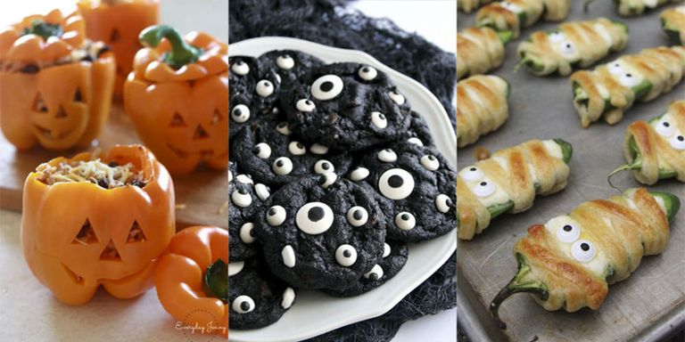 18 halloween party food ideas easy halloween recipes 18 super easy and impressive pinterest halloween recipes forumfinder Images