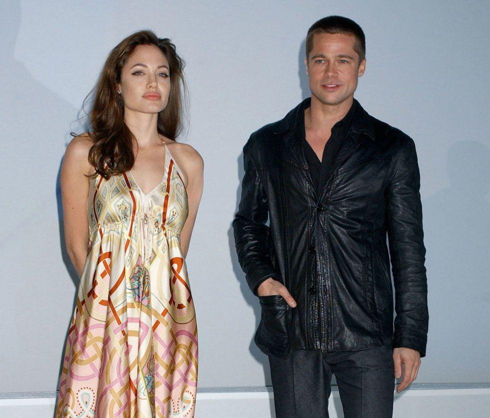 Angelina jolie and brad pitt started dating