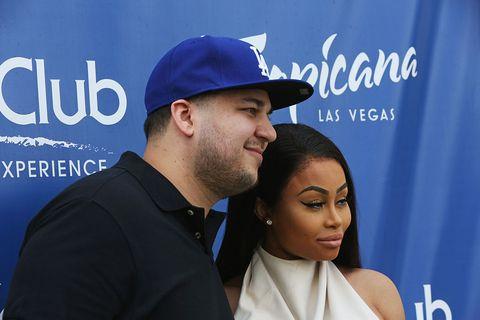 Blac Chyna and Rob Kardashian in Vegas