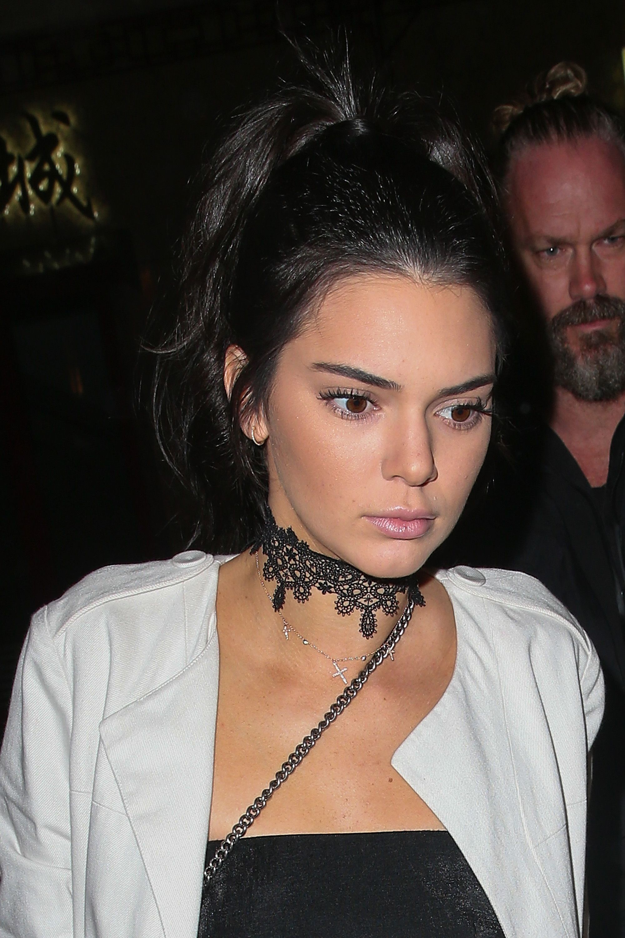 Kendall Jenner now has an edgy lip tattoo