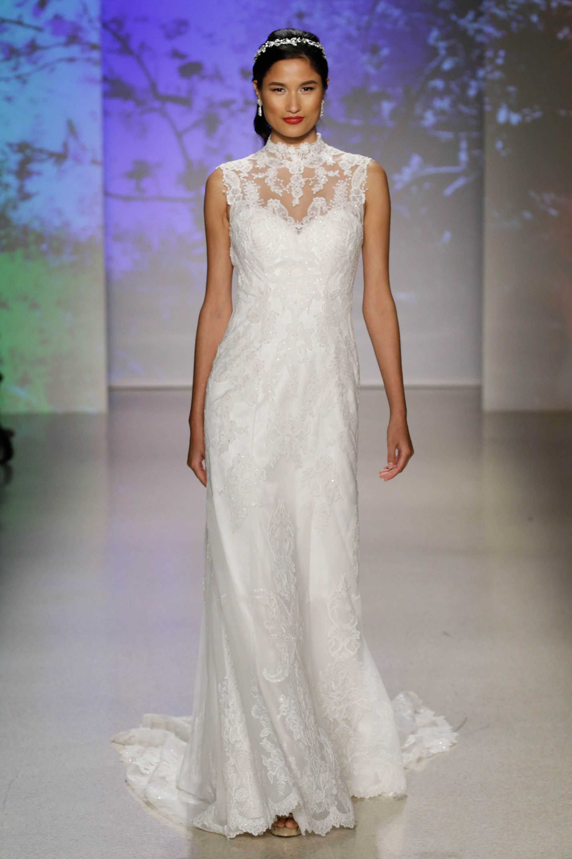 The Disney X Alfred Angelo Wedding Dress Collection Features Mulan And Pocahontas For First Time