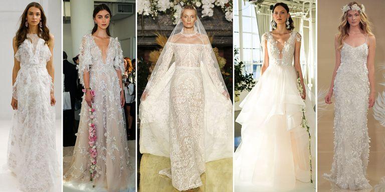 The most beautiful wedding dresses from new york bridal fashion week junglespirit Gallery