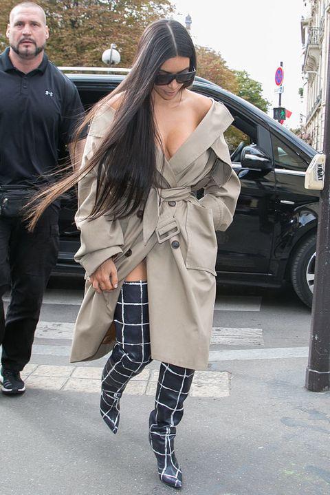 Kim Kardashian West with her bodyguard Pascal Duvier