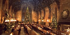 Hogwarts is hosting Christmas dinner in the Great Hall again this year
