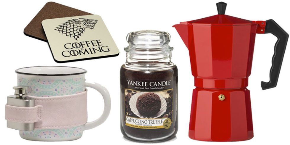 Coffee Cup Ornaments Set of 4 Coffee Lover Gift