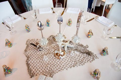 Each table at this wedding had a different Disney theme and it was ...