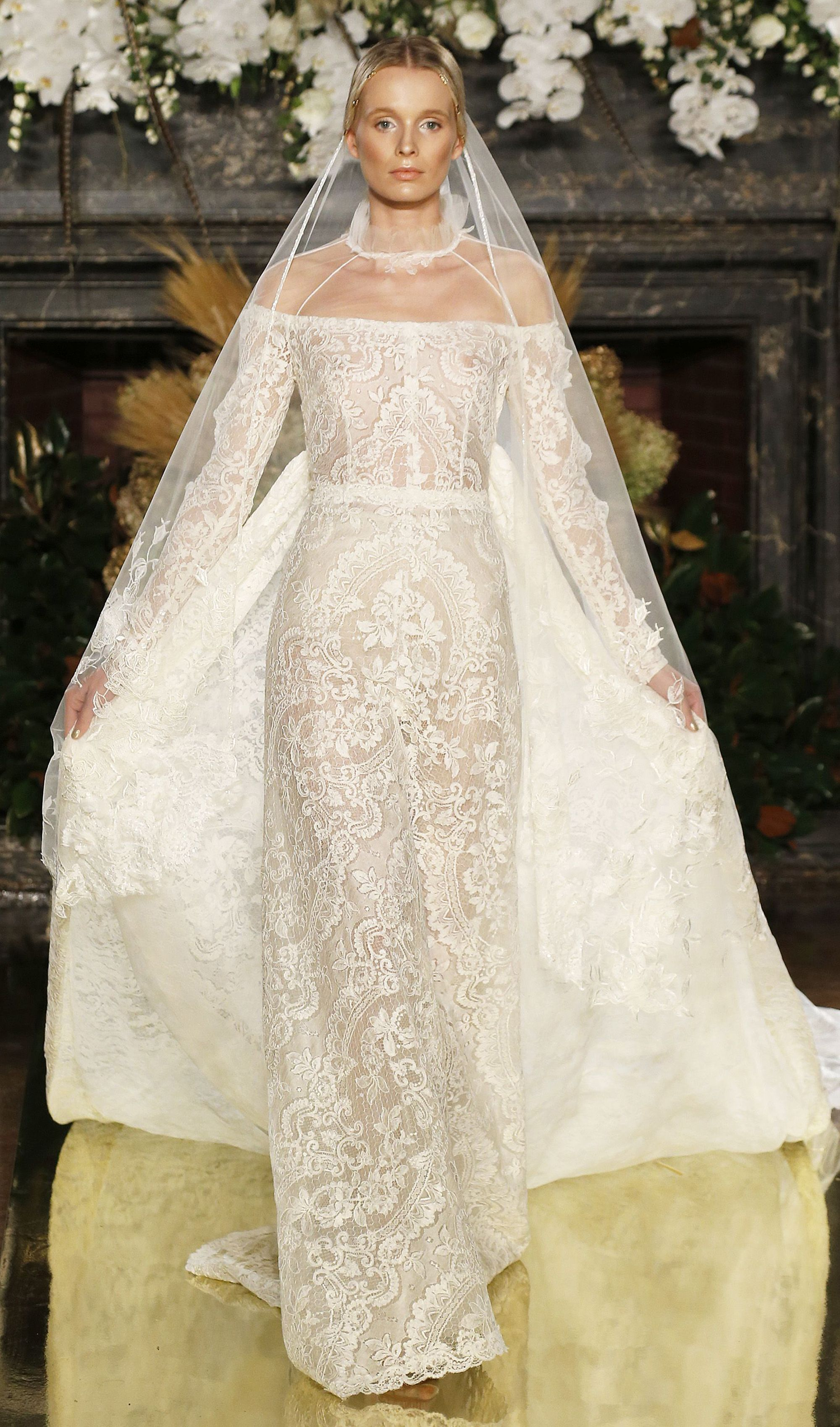 The Most Beautiful Wedding Dresses From New York Bridal Fashion Week