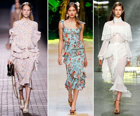 Spring/summer 2017 trends: ruffles