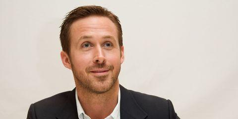 Ryan Gosling La La Land press room