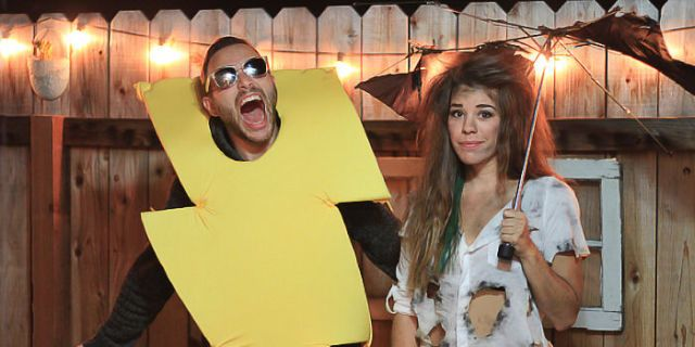 Halloween couple costume ideas  sc 1 st  Cosmopolitan & 30 Couples Halloween costumes - Halloween costumes for couples