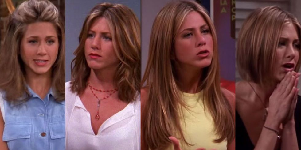 Every Single Hairstyle Rachel Green Had In Friends