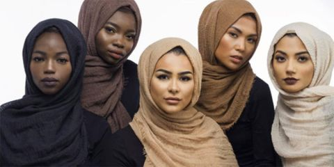cd2b77eb1 A UK blogger has designed a range of hijabs for different skin tones