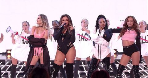 Little Mix accused of 'dressing like strippers' on last