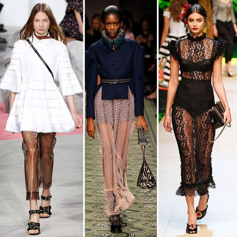 Spring/Summer 2017 fashion trends: sheer