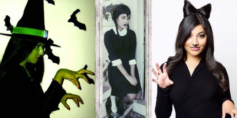 sc 1 st  Cosmopolitan & Halloween dresses: black dress costume ideas