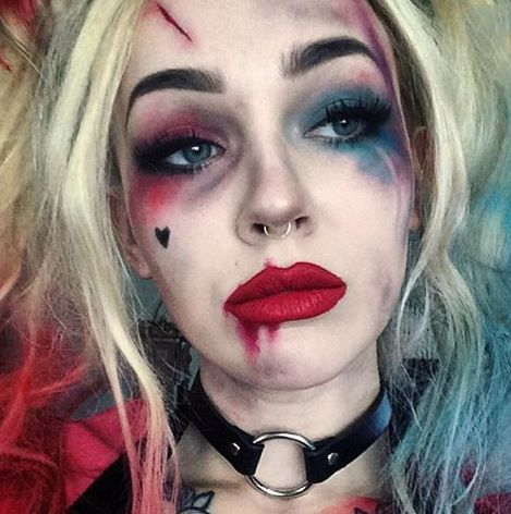 Easy Halloween Makeup -