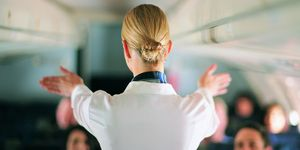 Air stewardesses 'aren't allowed to gain weight', one hostess reveals