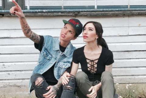 RUBY ROSE DATING WHO