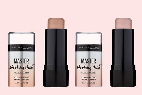 "<p>For a blinding highlight, <a href=""https://www.instagram.com/p/BMnCS9FBb6A/"" target=""_blank"" data-tracking-id=""recirc-text-link"">do as makeup artist Erin Parsons does</a> and mix together the shimmery 001 and 001 shades and apply to the high points of the face for a killer strobe effect.</p>  <p></p>  <p>Maybelline Master Strobing Stick, $7.99; <a href=""http://bit.ly/2gaG9yE"" target=""_blank"" data-tracking-id=""recirc-text-link"">target.com</a>.</p>"