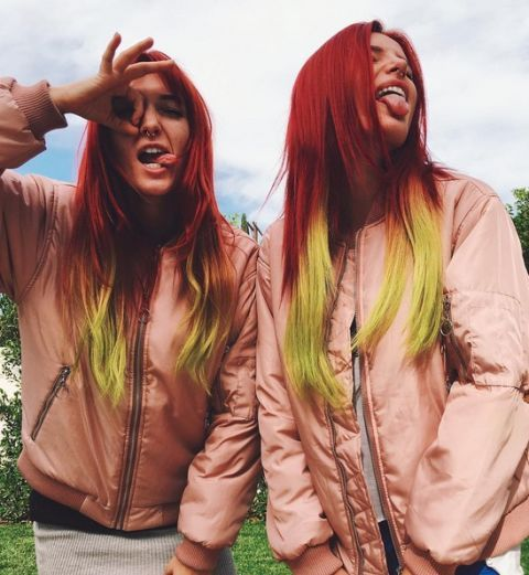 Red Hair colour inspiration