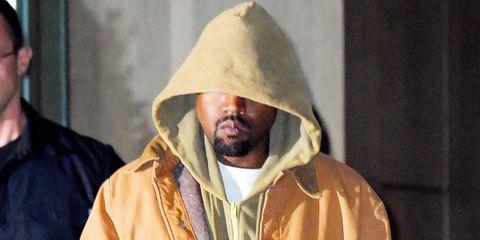 Kanye West in New York, October