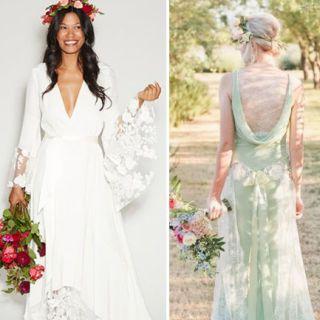 Montraditional wedding dress ideas for ballsy brides