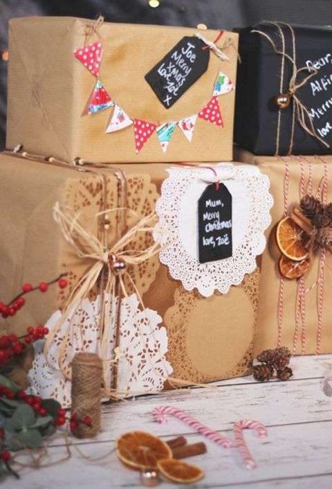 christmas gift wrap, gift wrapping ideas, gift wrapping, present ideas, pinterest