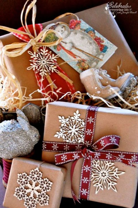 Christmas Gift Wrap Gift Wrapping Ideas