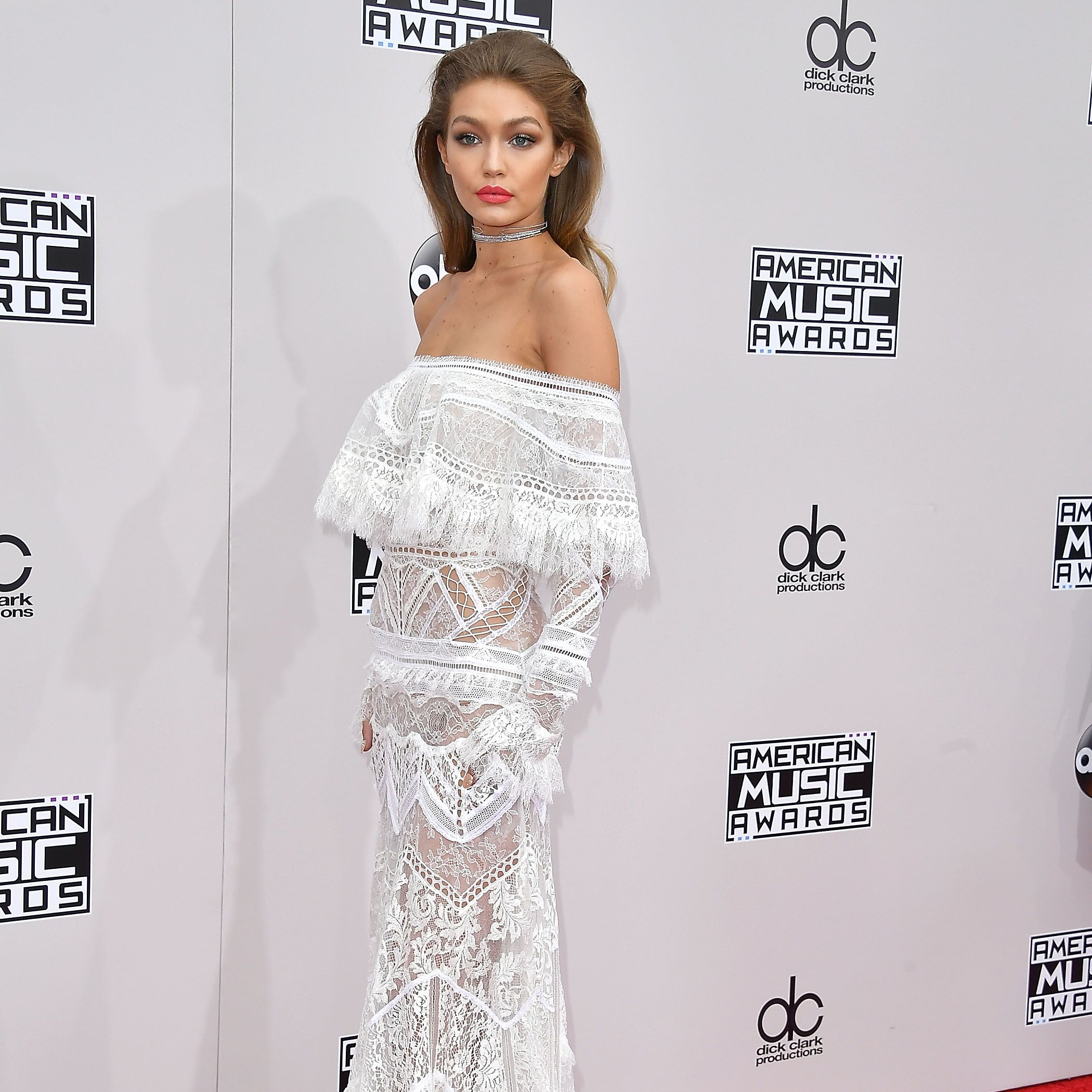 Gigi Hadid's six outfit changes while hosting the AMAs