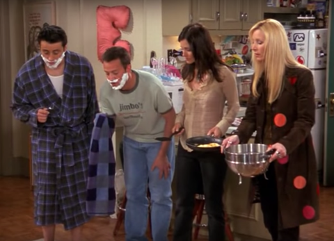 Friends invented the Mannequin Challenge 13 years ago and nobody realised