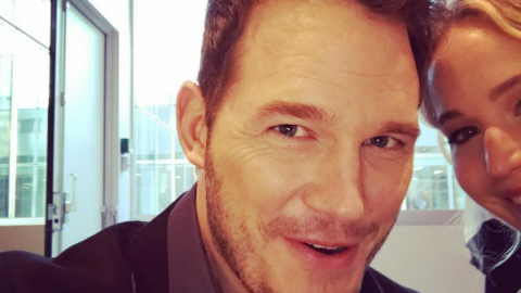 Chris Pratt is definitely trolling us with these Jennifer Lawrence pictures