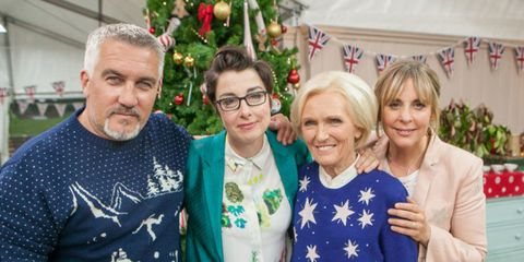 The Christmas Day Great British Bake Off schedule has been announced